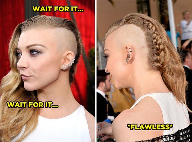 22+ Womens half shaved head hairstyles ideas