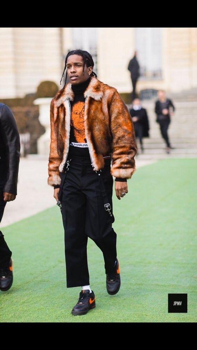 Pin von Samir Echi auf A$AP Rocky | Rapper kleidung, Street