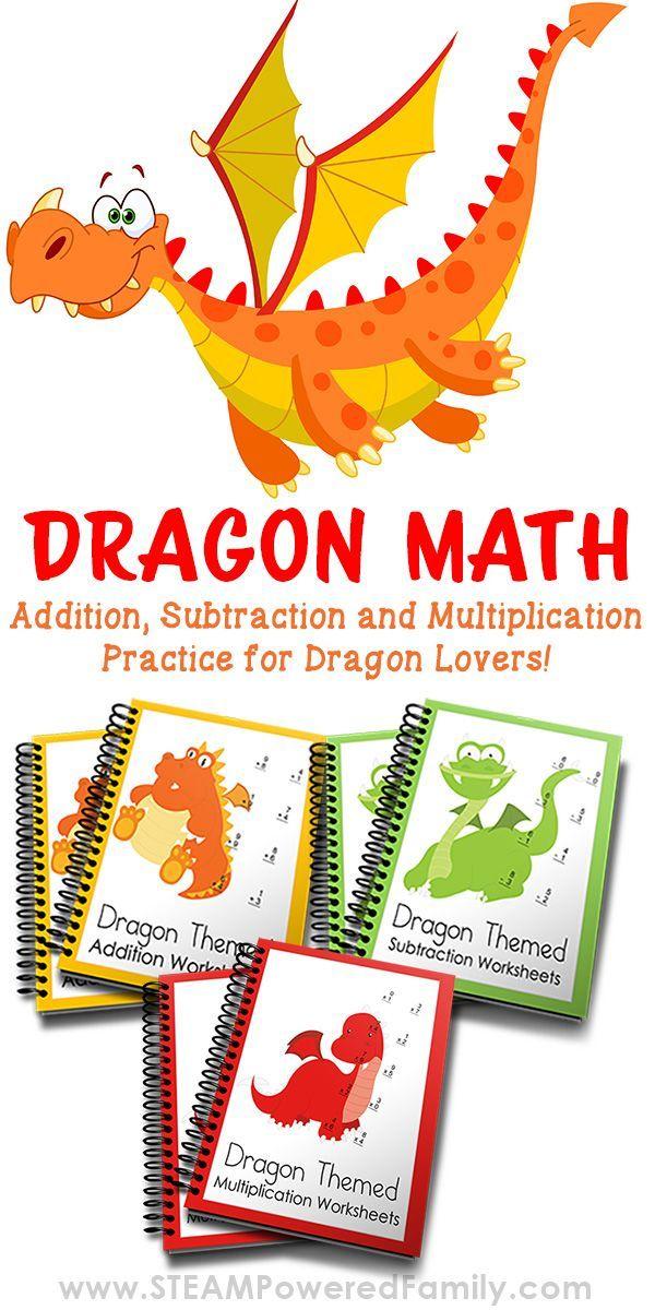 Dragon Math Worksheets Master The Maths Homeschooling