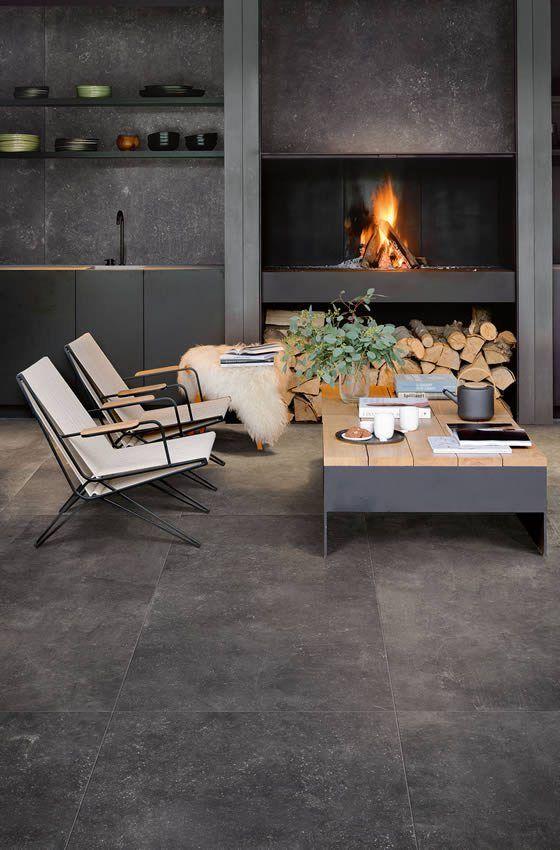 Tegels Buiten 80x80.Hardsteenlook Tegel Mooi Binnen En Buiten Kronos Ceramica 80x80