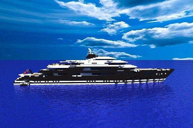 Serene Megayacht 1 1 Exterior Minecraft Project By Thranduil