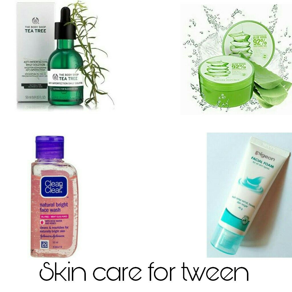 Skin Care For Tween Routine 1 Wash Your Face 2 A Day With Facial Soap 2 Use Tea Tree Oil To Skin Care Effective Skin Care Routine Simple Skincare