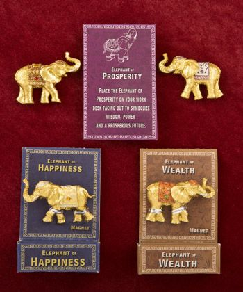 Lucky Gold Elephant Key Magnets In 2018 Elephant Wedding Favors