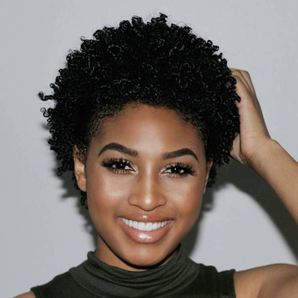 Natural Short Wet Looking Hairstyle Short Natural Hair Styles Hair Styles Natural Hair Styles