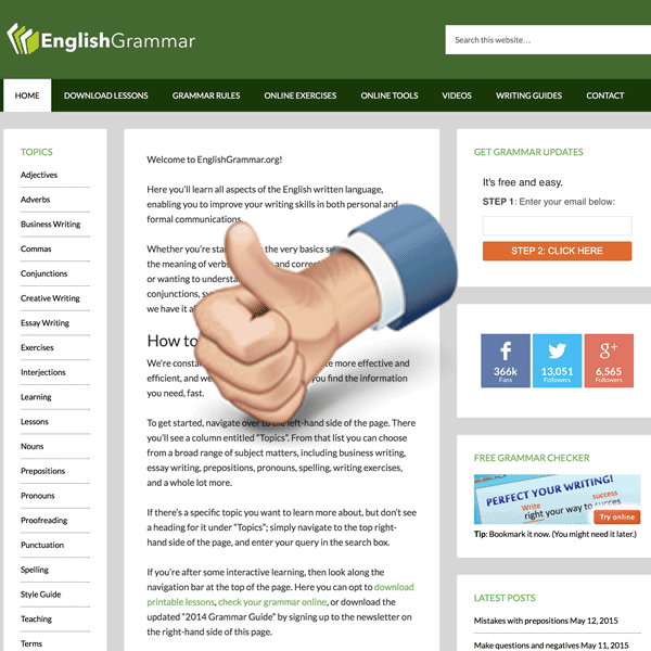 Download English Grammar Lessons For Free In The Pdf Format For