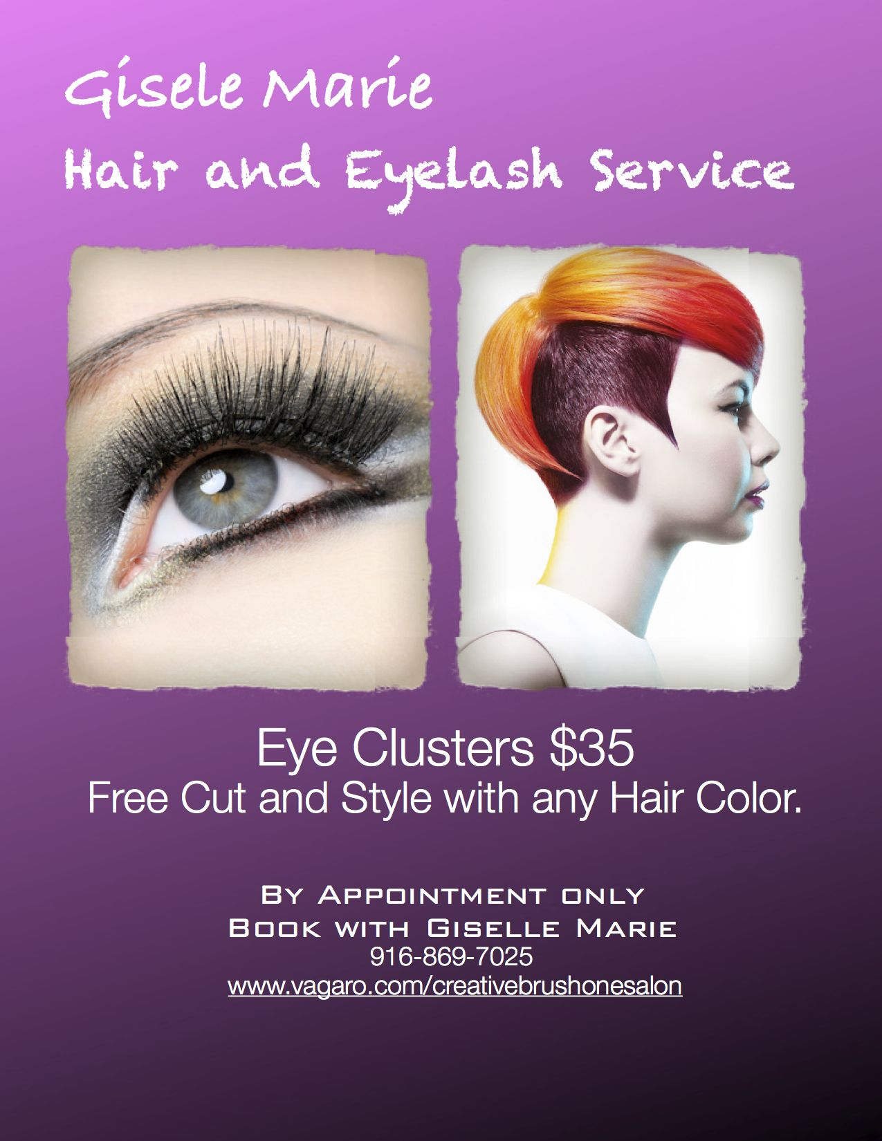 eye cluster by appointment only please see flyer for booking please see flyer for booking