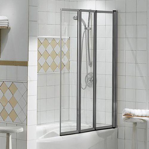 Shop Maax 135340 900 084 000 Maax Framed Three Panel Folding Tub