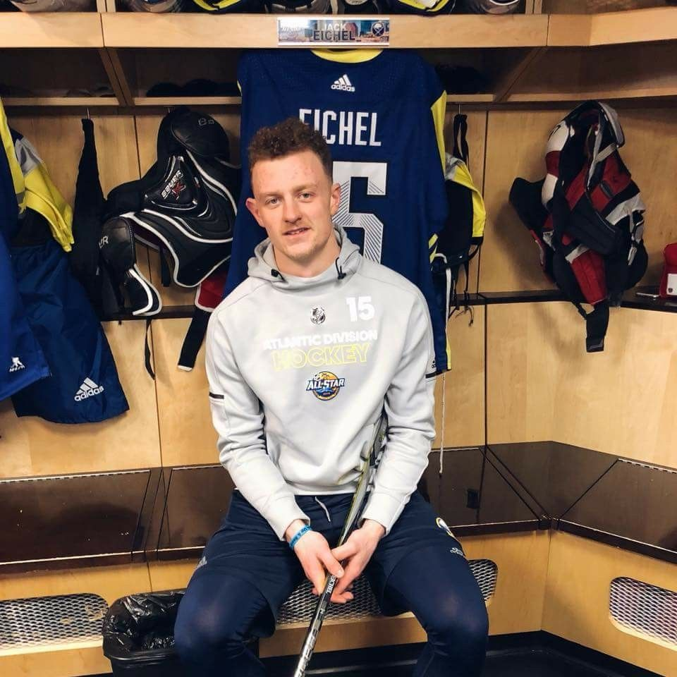 low priced 201a4 5abea Jack Eichel - 2018 All-stars | New York: Buffalo Sabres ...