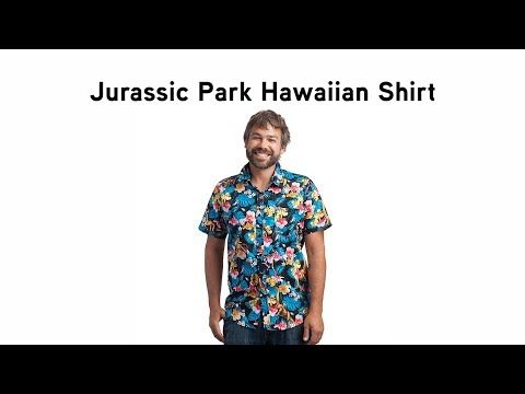 321337b8 Why settle for a Hawaiian shirt with just flowers on it? Amateurs. What you  need is a nice selection of orchids, hibiscus, plumeria, some  Parasaurolophuses, ...