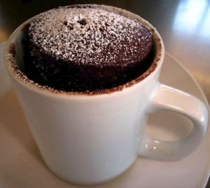 Chocolate Mug Cake Recipe Truvia Baking Blend Vanilla Whey Protein Powder And