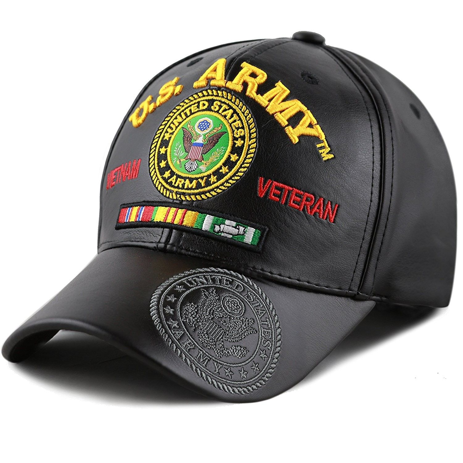 U.S Military Army 3-D Embroidered Officially Licensed Army Baseball Hat Cap