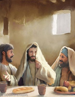 Luke 24: The tomb is empty and Jesus is seen (recognized) by others. :)