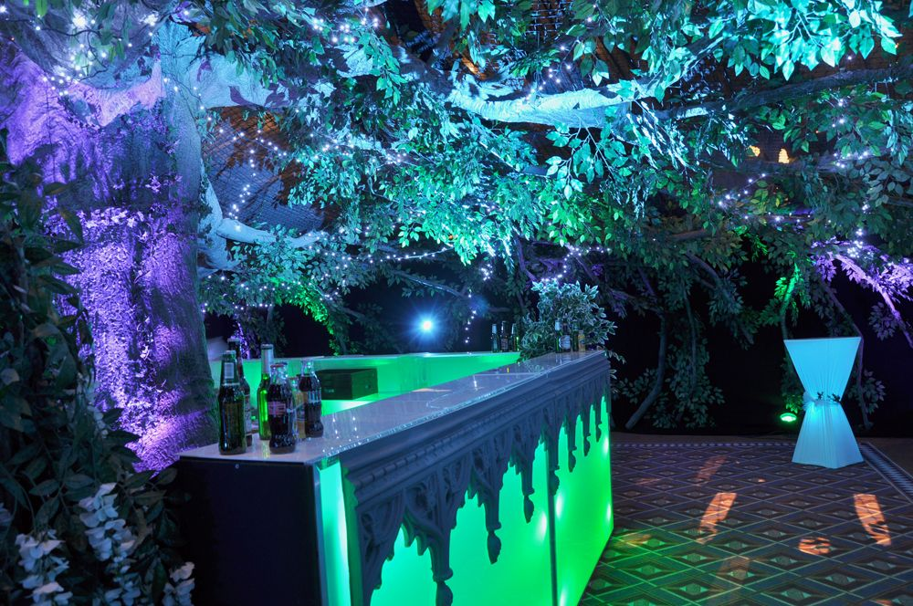 They Just Put The Trim Over The Lighted Bar Prom
