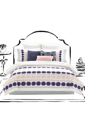 Kate Spade New York Ikat Dot Comforter Set Products Pinterest