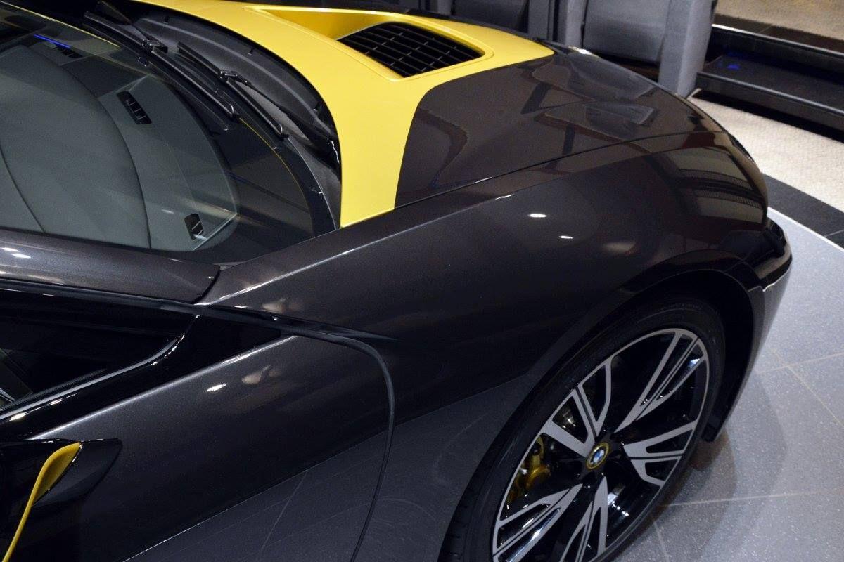 Bmw I8 Edrive Black Pearl Austin Yellow Bmw I12 I8 Edrive