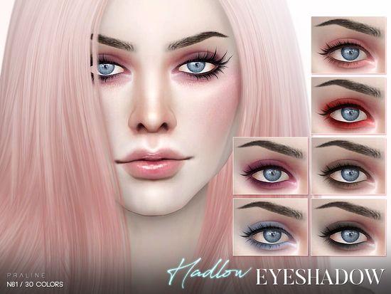Pralinesims Hadlow Eyeshadow N61 Sims 4 Updates Sims