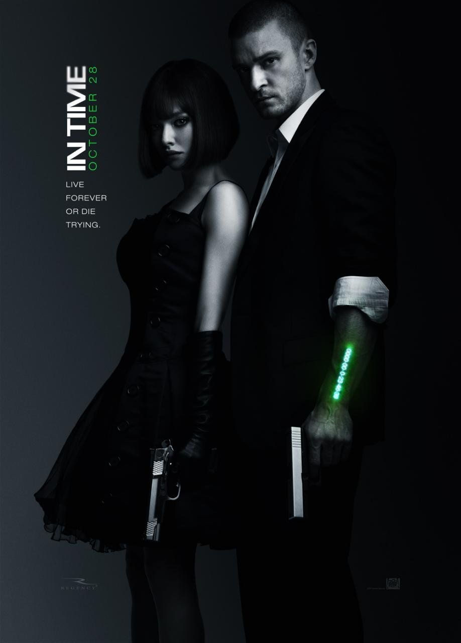 This wasn't the best movie of all time, but I loved the premise.   Time is the new currency.
