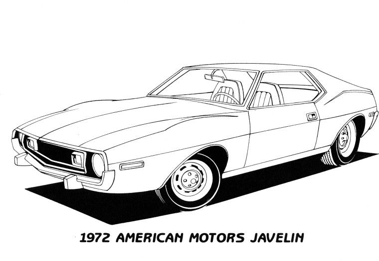 Pin on old cars coloring pages