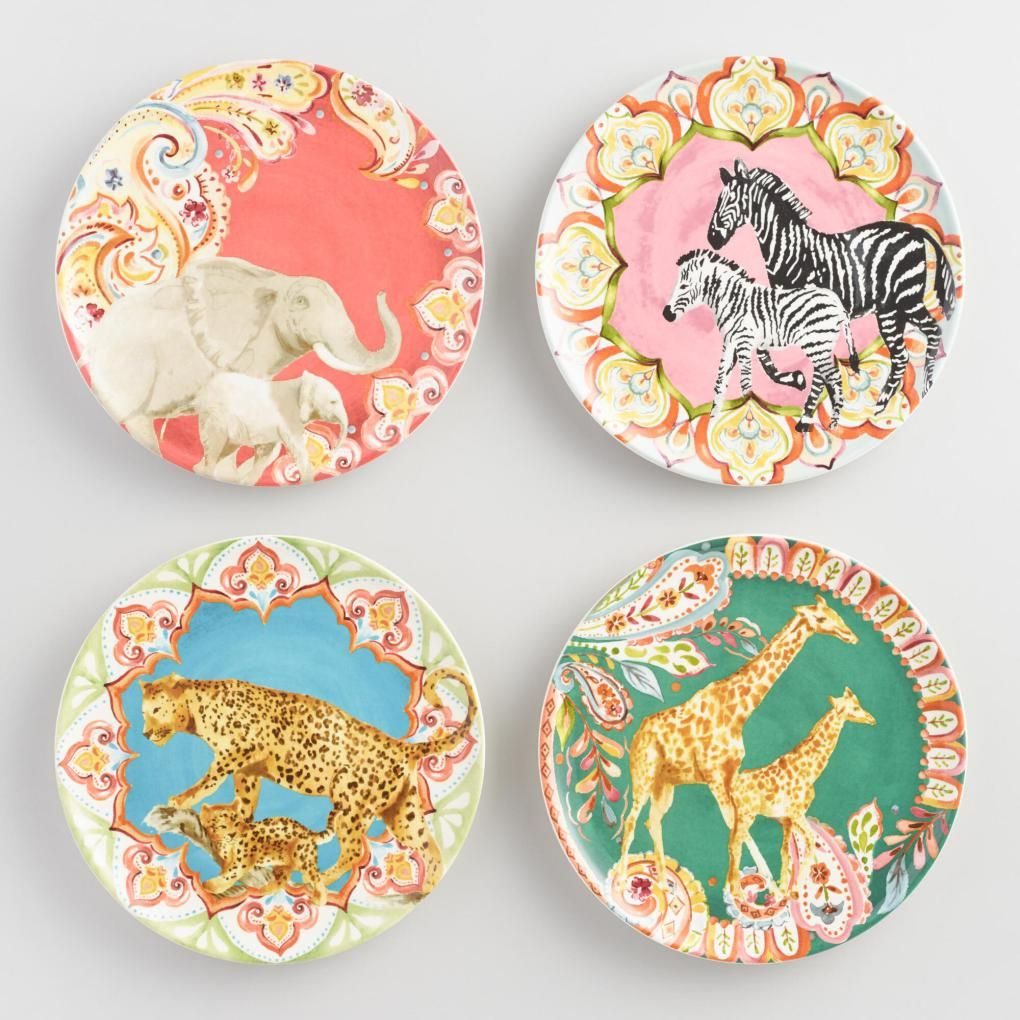 The animals depicted on our salad plates were inspired by line drawings that graced French drapery panels. Reinterpreted by a local artist each of these ...  sc 1 st  Pinterest & Mixing in Menagerie | Susan Hayward Interiors | Interior Designer ...