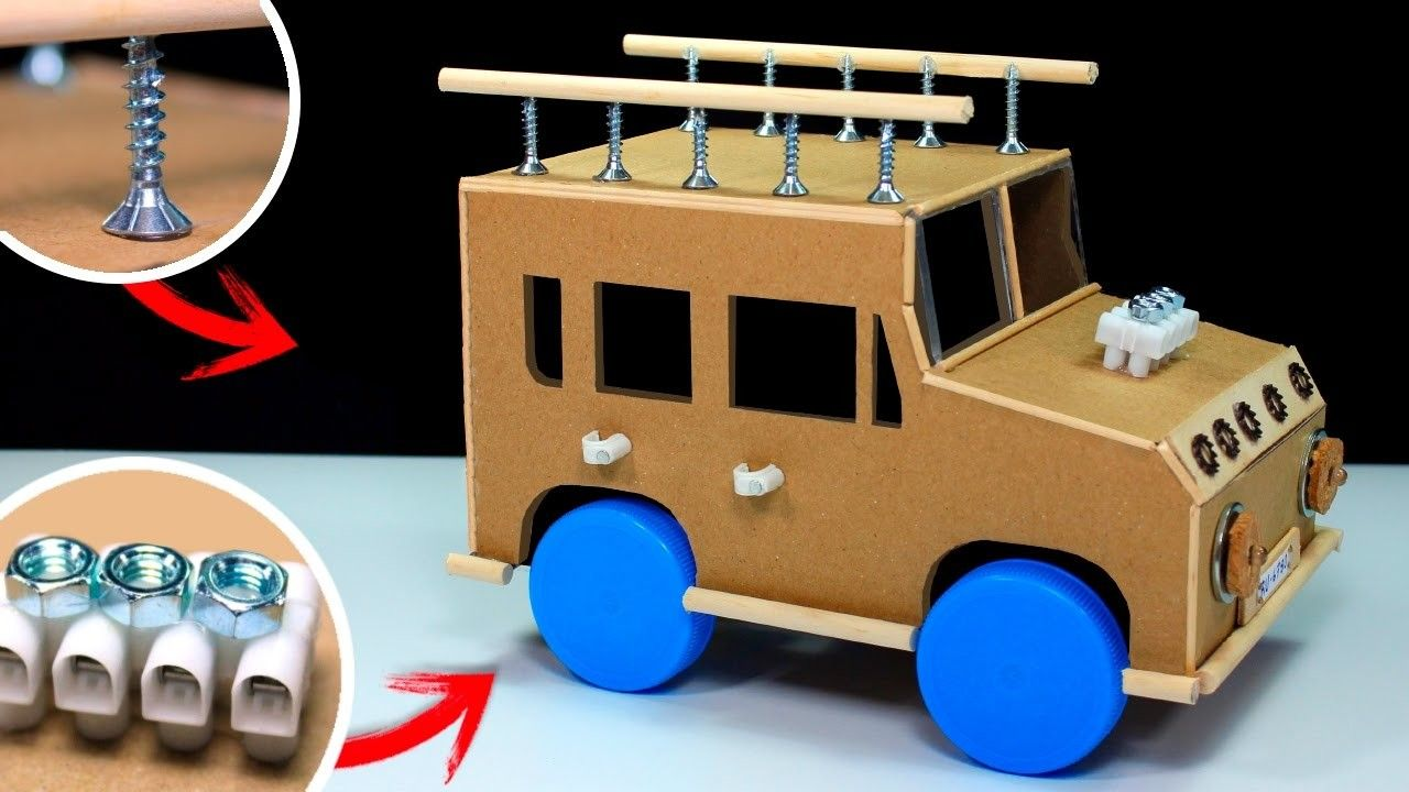 How To Make A Powered Car Diy Projects Pinterest Happy Truck Track Tape Mainan Anak Electric