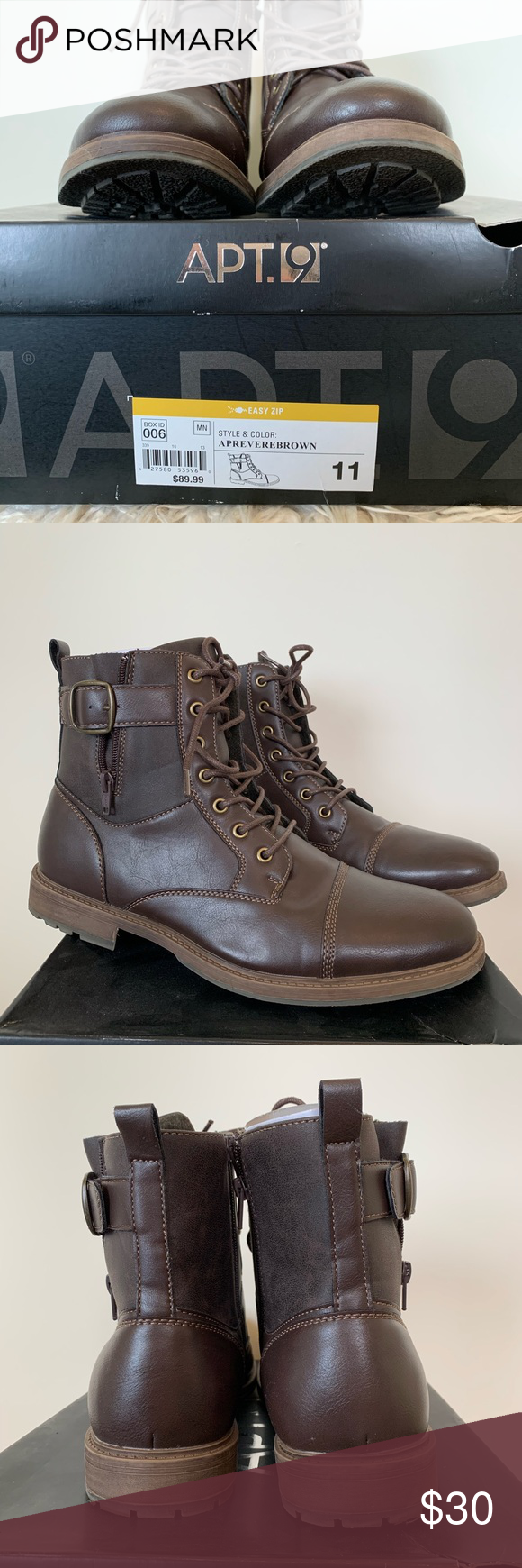 Apt 9 Men's Casual Boot   Casual boots