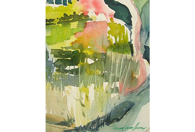 Abstract by Thelma Speed Houston on OneKingsLane.com