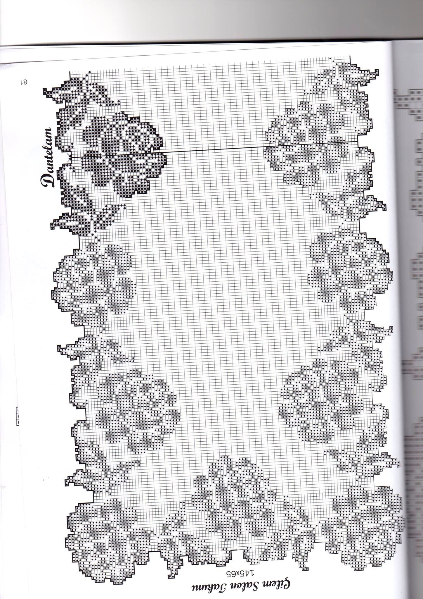 Filet crochet   Benim dunyam   Pinterest   Mantel, Carpeta y Caminos ...