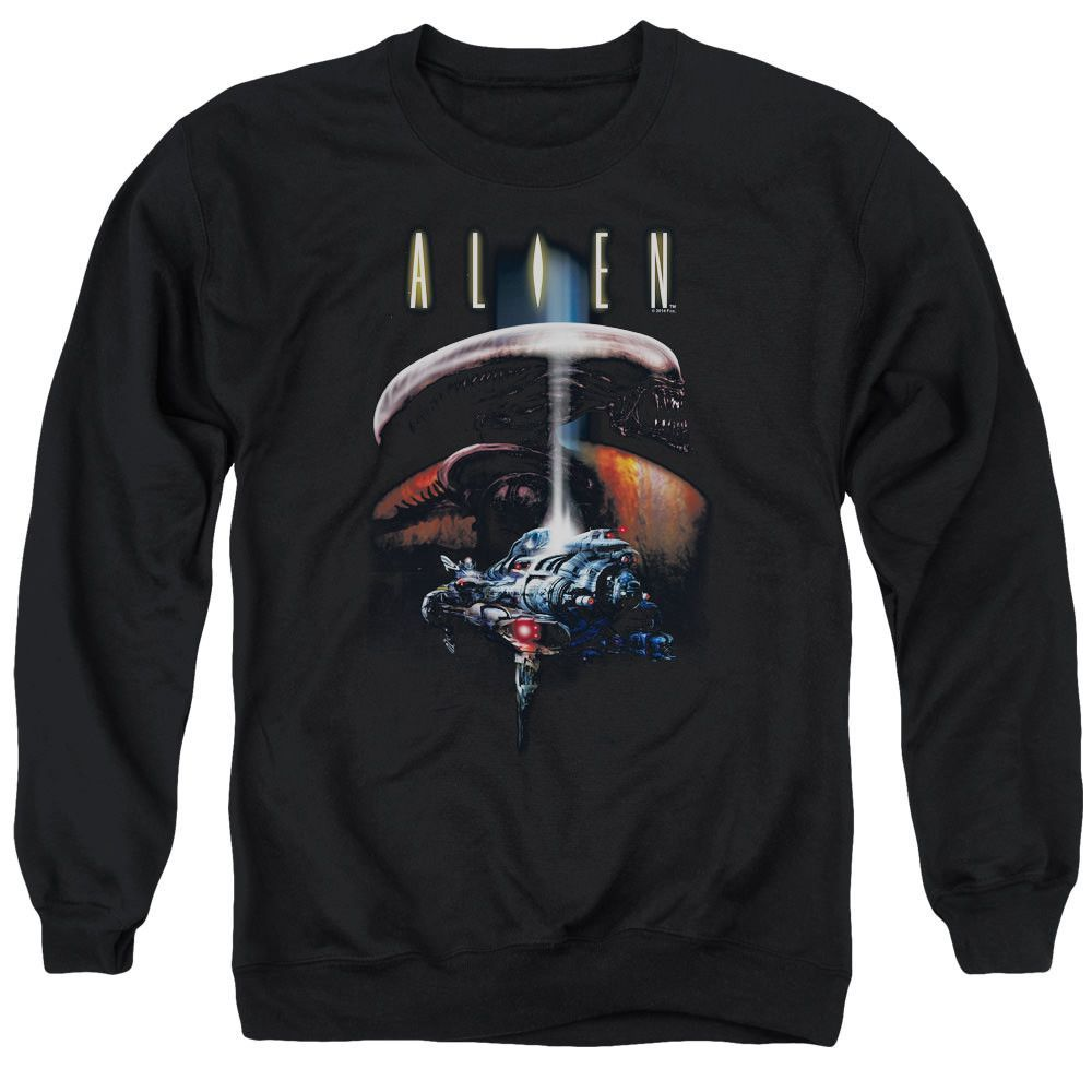 Alien Planet Black Crewneck Sweatshirt