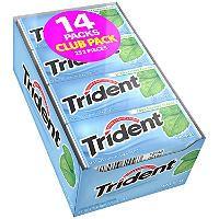 Trident Mint Bliss Sugar Free Gum - 18 ct. - 14 pk. - Sam's Club
