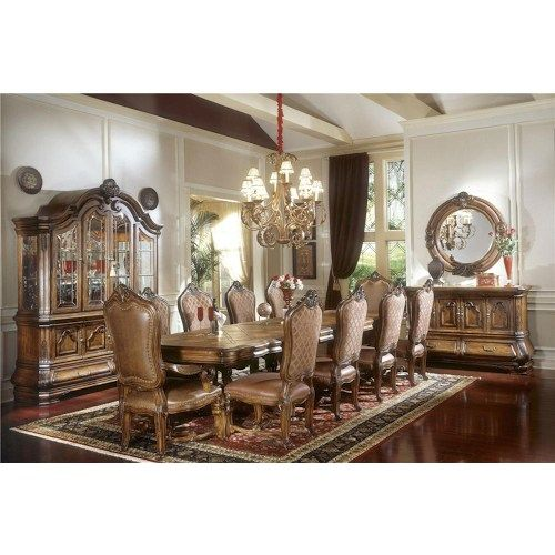 michael amini tuscano formal dining room group | dining rooms, Esstisch ideennn