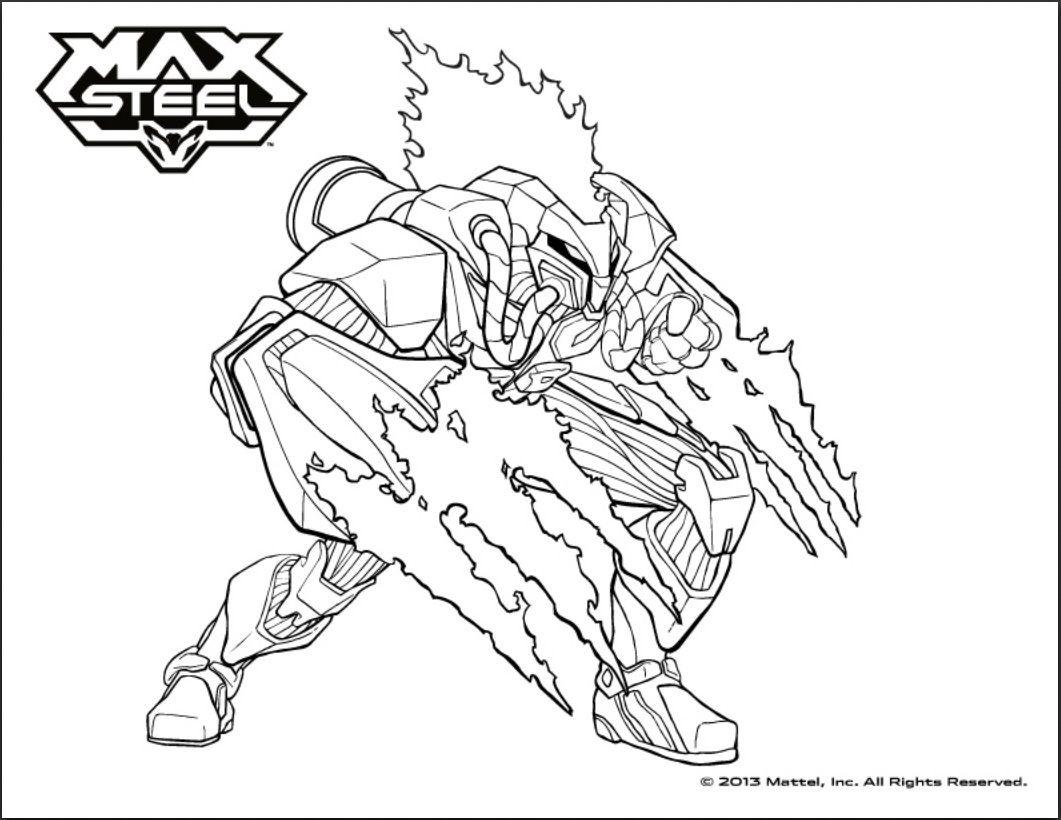 Ausmalbilder Actionfiguren 01 ZeichentrickfigurenKostenlose