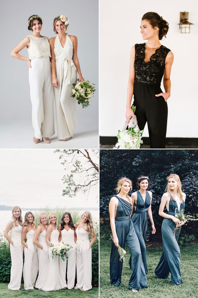 Seriously stylish fashionforward bridesmaid dresses your girls will