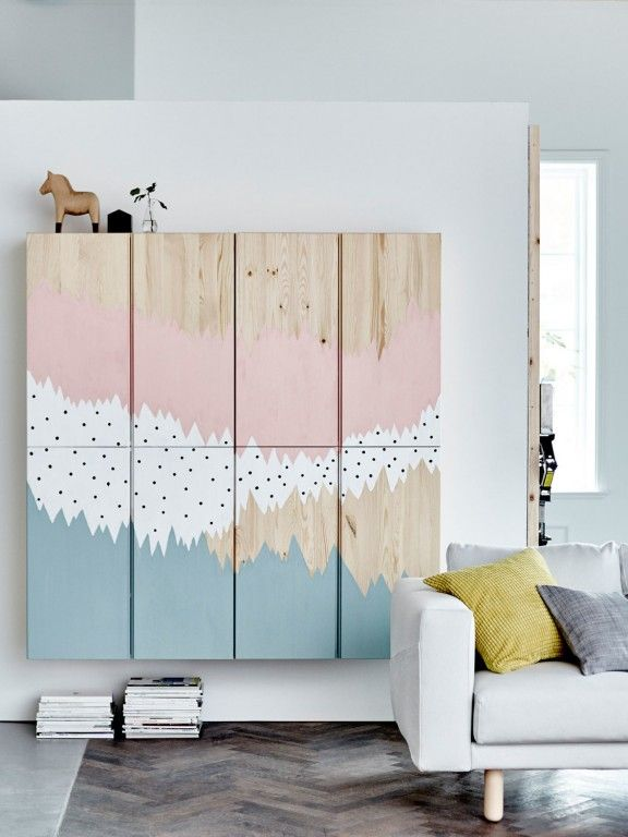 ikea hacking 17 id es pour customiser le caisson ivar. Black Bedroom Furniture Sets. Home Design Ideas