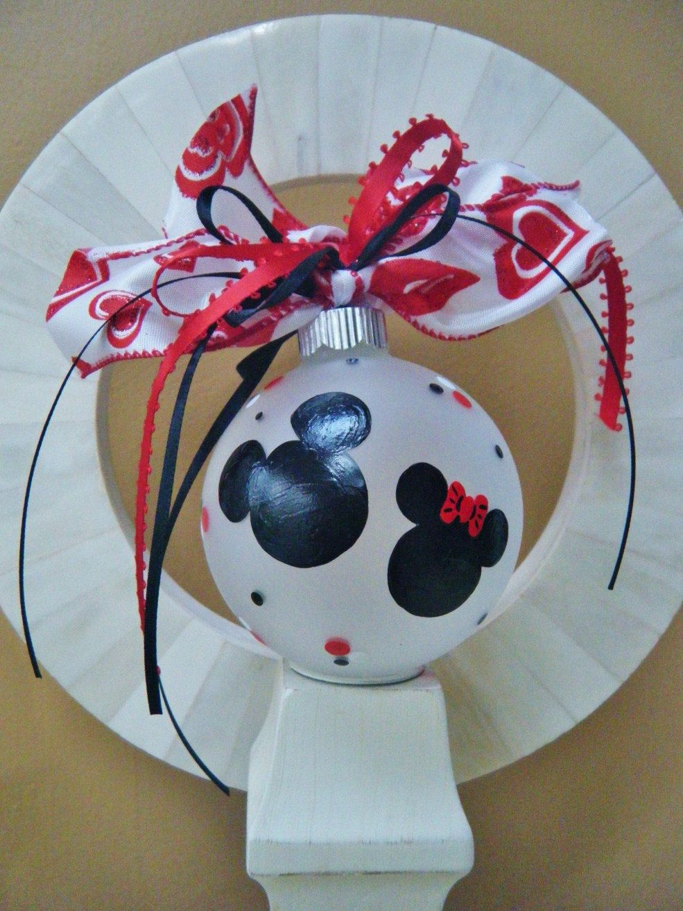 Disney Party Favor Ornaments - TWO Personalized Hand ...