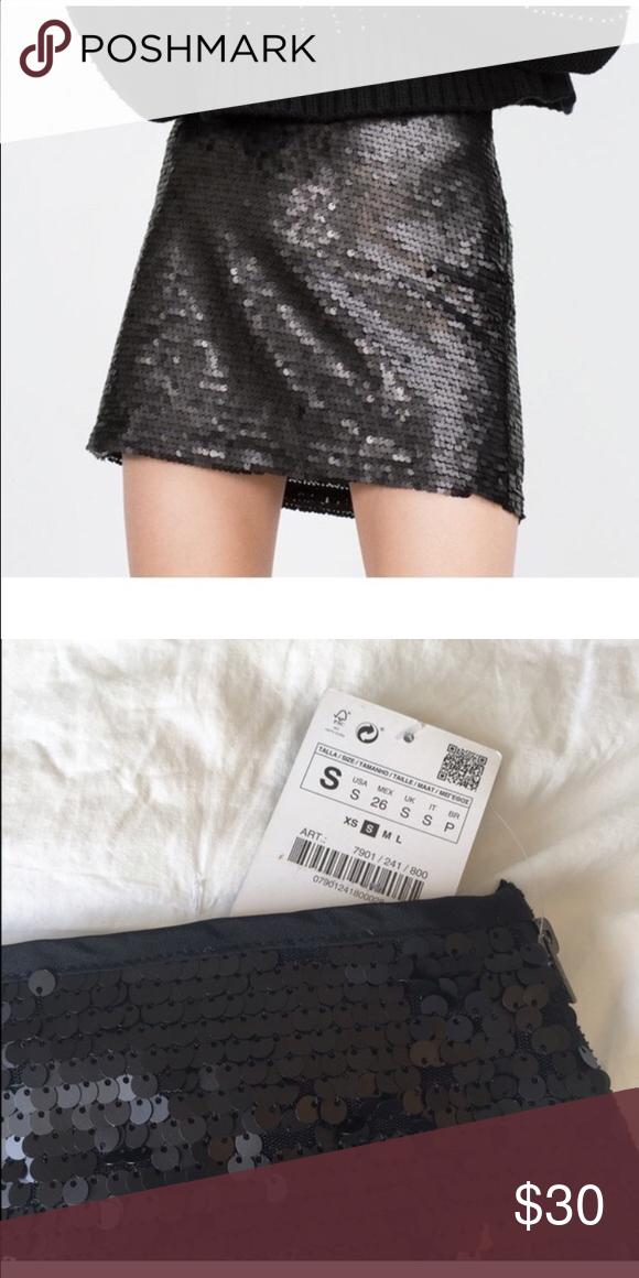 b2b224904e3c NWT Zara mini skirt Never worn, super cute!! Sits at the hip Zara Skirts  Mini