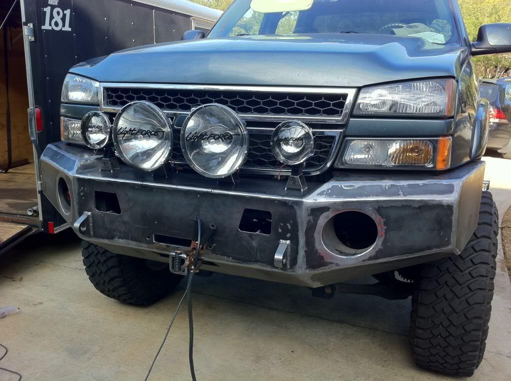 My custom bumper build diesel place chevrolet and gmc diesel truck forums