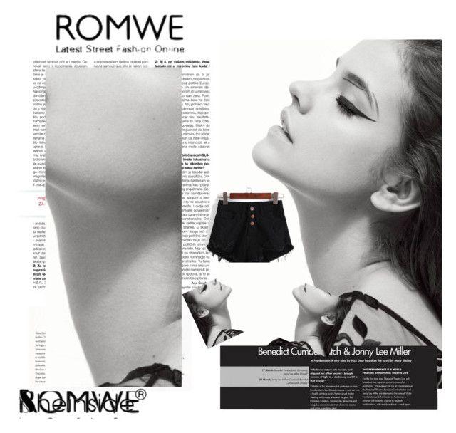 """Romwe"" by adelisamujkic ❤ liked on Polyvore"