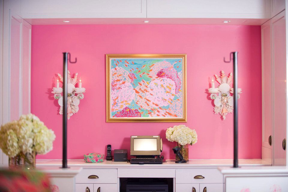Lilly Pulitzer Tyson Galleria I think I may paint the upstairs guest ...