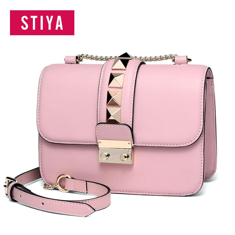 ebb6bd84cea 2019 的 STIYA JUNE Small Evening Bags for Women Crossbody Bag Chain ...