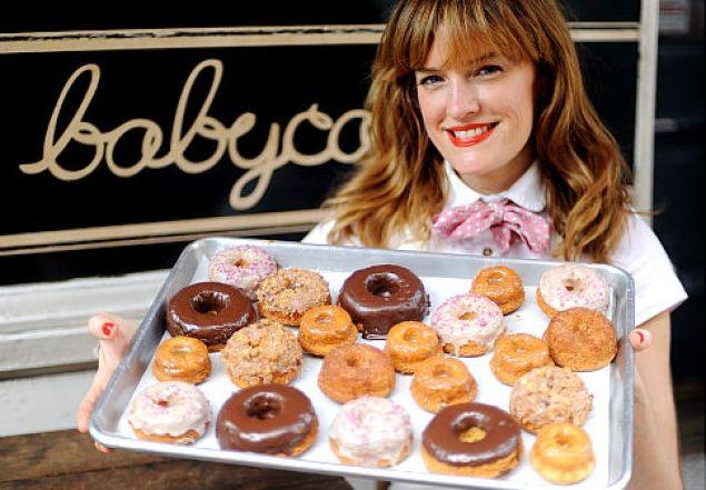Babycakes vegan bakery owner Erin McKenna whips up ...