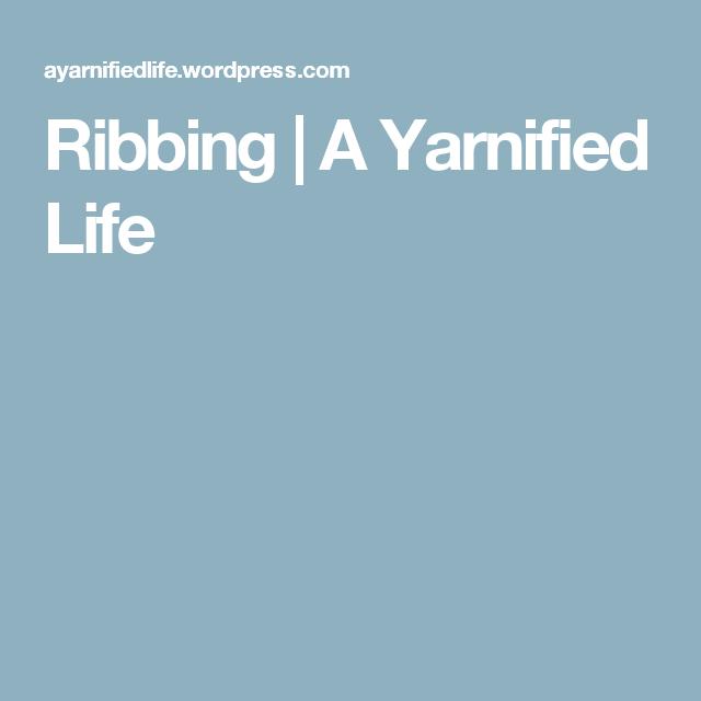 Ribbing