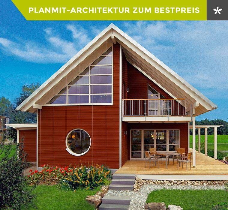 Planmit entwurf skandinavisch 134 m minihaus for Fertighaus minihaus