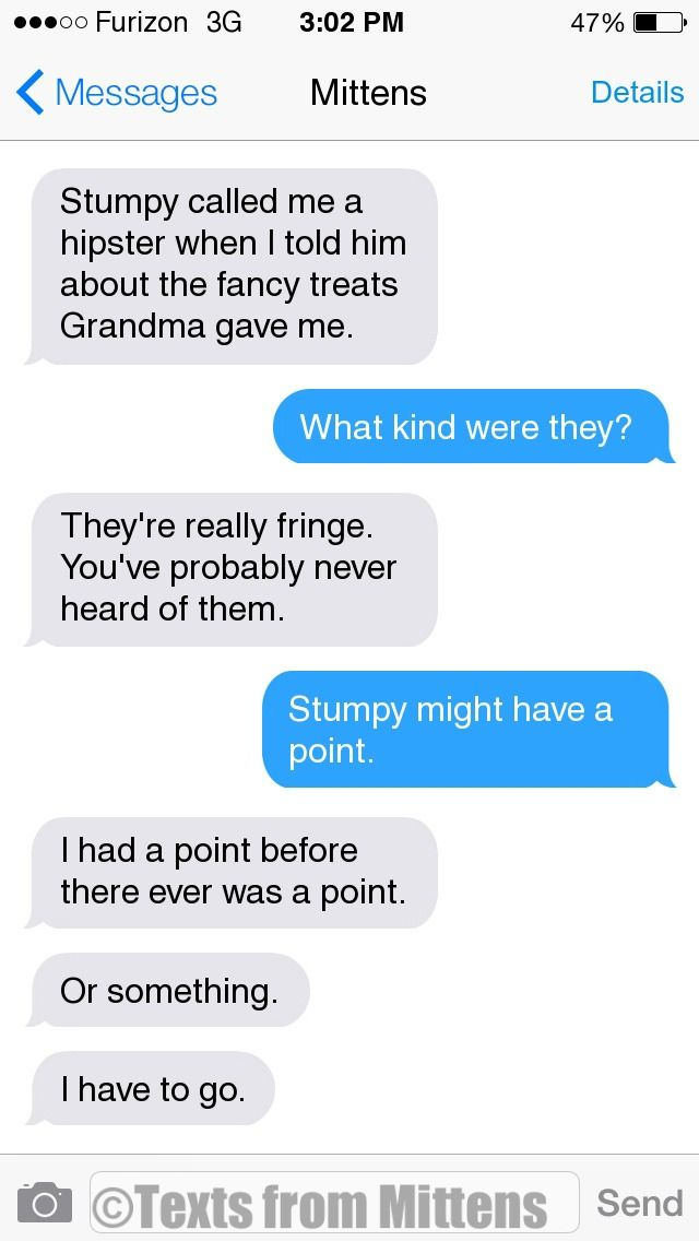 NEW Daily Mittens: The Hipster Edition More Mittens: http://textsfrommittens.com/ Order Mittens' book: http://amzn.to/1BVvMmB