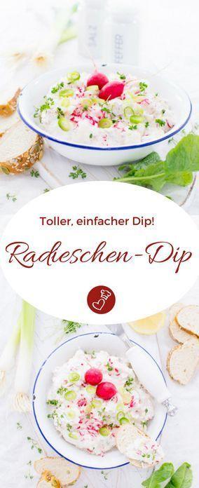 Radish Dip   – herzelieb – der Foodblog mit Herz | Germany Food Blog – #Blog #De…