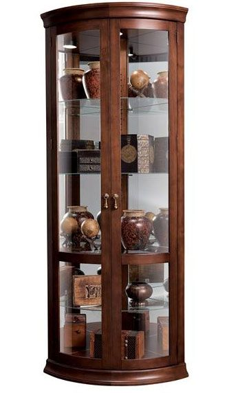 Corner Curio Cabinets Usa Made Big Savings And Free In Home Delivery Corner Curio Curio Cabinet Cabinet Design