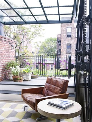 A townhouse in the West Village
