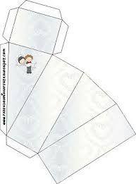 Resultado de imagen para como hacer cajitas para souvenirs infantiles