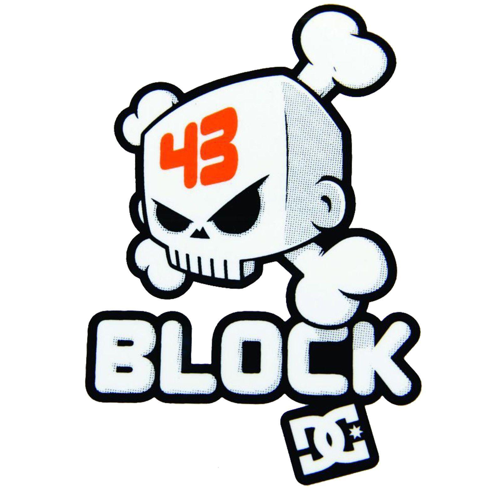 Ken Block Hoonigan Block Logo Childrens Wall Art Sticker Vinyl Transfer Ken Block Sticker Bomb Stickers