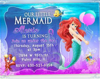 Ariel Birthday Ariel Birthday Card Picture 123473743 Blingee Com Little Mermaid Movies Little Mermaid Wallpaper Walt Disney Characters