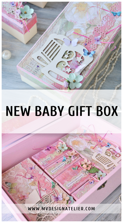 Baby Keepsake Box Custom Baby Shower Box Baby Memory Box Etsy Baby Girl Keepsake Box Custom Baby Shower Baby Keepsake Box